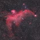 『いっかくじゅう座のワシ星雲(IC2177)』の画像