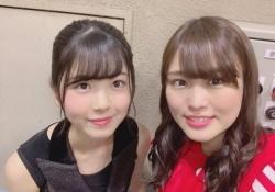 【有能】伊藤かりん、筒井あやめとのツーショット公開キタ――(゚∀゚)――!!