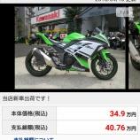 『Ninja 250 買ったった』の画像