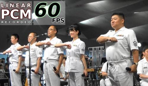 海上自衛隊の歌姫 三宅由佳莉さんらが演奏する東京音楽隊「宇宙戦艦ヤマト組曲」に海外感動