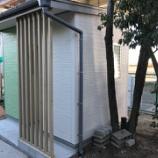 『仕事納め:外壁サイディング・屋根・雨樋工事完了』の画像