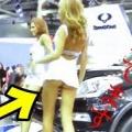 【動画】モデルの金髪美人、衣装が短すぎて〇〇〇丸見え!!セクシーハプニング・爆笑・おもしろ動画・世界の衝撃映像【神のいたずら】