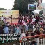 【動画】インド、安倍首相がアーメダバードに到着!もの凄い大歓迎を受ける、その様子 [海外]