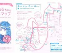 【欅坂46】ねるちゃんマップ7000部発行さらに増刷検討中!?東京のアンテナショップで無料配布
