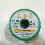『千住金属工業の LEO(低温ヤニ入り糸はんだ)インプレッション』の画像