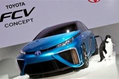 将来的に車はガス使わなくなって水素酸素のエコカーが主流になるのかな