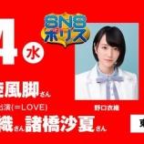 『[イコラブ] 野口衣織、諸橋沙夏 『SNSポリス』出演か!?【=LOVE(イコールラブ)】』の画像