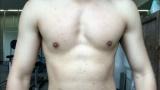 ワイの大胸筋、形がおかしい(※画像あり)