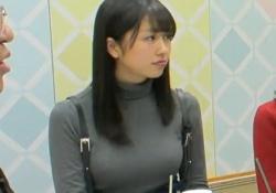ももクロ佐々木彩夏ちゃんのおっぱいデカすぎる!推定Hカップでセーターがはち切れそうに!