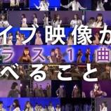 『【乃木坂46】全握ミニライブ映像 ダウンロードおすすめ楽曲がこちら!!!』の画像