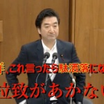 【動画】民進党・升田議員がひどい!拉致問題をダジャレに使う「拉致(埒)があかない」