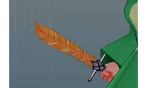 ファイアボールも撃てる神秘なフェニックスの羽根剣
