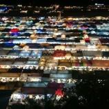 『【バンコク観光】インスタ映えのナイトマーケットは、見るだけでなく食べ歩きも楽しい!タラート・ロッファイ・ラチャダー』の画像