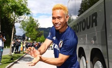 【衝撃】日本代表の長友選手、超サイヤ人になる