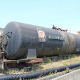 『放置貨車 タキ11200形タキ11203』の画像