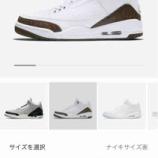 "『NikeStoreクリアランスセール Air Jordan 3 ""Mocha"" 136064-122』の画像"