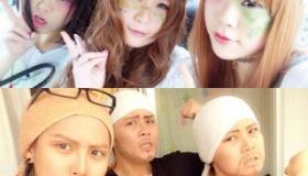 【ネット文化】  嘘だろ・・・。日本の女性が 化粧で「イケメンおっさん」に変わる画像が面白い!   海外の反応