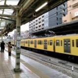 『中央快速線 朝ラッシュ時国分寺駅での乗降観察』の画像