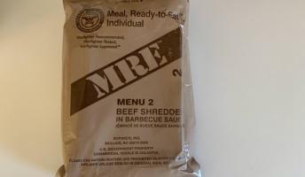 米軍の戦闘食、レーションを食ってみる
