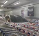 大型マートでカート置き場に違法駐車 それに対する報復が凄いと話題に!!!
