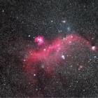 『いっかくじゅう座の散光星雲IC2177(わし星雲)』の画像