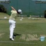 『ゴルフが上達して100切達成した動画 【ゴルフまとめ・ゴルフスイング スロー 】』の画像