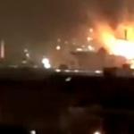【動画】中国、今度は上海の製鉄所の高炉が爆発、炎上!火の塊が上空へ噴き出す! [海外]