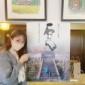小さい時から家族で通っている 喫茶店☕️💗  映画『石だん』...