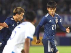 【 日本代表 vs エルサルバドル 】試合終了!ついにデビューを果たした久保建英!チームは2-0で勝利!