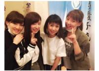 武藤十夢、岡田奈々が大島優子の舞台を観覧!野呂さんとも会い4ショット