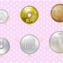 イラスト素材「硬貨セット」販売開始です!