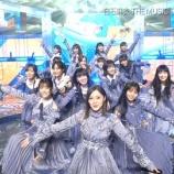 『【THE MUSIC DAY】まさかの発見!!!白石麻衣、西野七瀬の衣装を着てテレビ出演していた!!!!!!』の画像