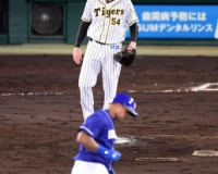 【阪神】メッセ、ビシエドに2被弾。エース打ち込まれ6回6失点降板。
