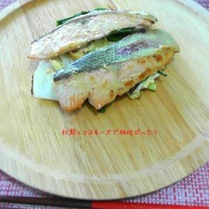 トースターで焼くだけ!秋鮭のマヨポン焼き