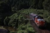 『2021/8/5運転 DD51-1109牽引キハ120形2両出場配給』の画像