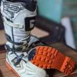 『YZ250X ガード類追加とブーツ補修で散財』の画像