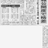 『(埼玉新聞)戸田市は埼玉県で3位 情報公開度 埼玉市民オンブズマン調査』の画像