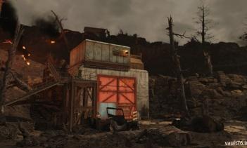燃え盛る鉱山(Burning mine)