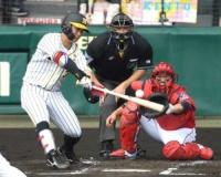 阪神すぐに反撃!糸原&ボーアの適時打で2点返す!藤浪を援護!
