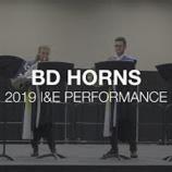 『【DCI】ホルン・アンサンブル! 2019年ブルーデビルズ『パフォーマーズ・ショーケース』本番動画です!』の画像