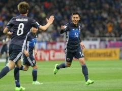 【 日本代表×タイ 】試合終了!久保が2戦連発!吉田麻也のヘッド!川島のPKセーブ!日本が4-0でタイを下す!