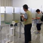 投票所のジジババ 「安倍の暴走止めなきゃ・・・『民主党』っと」  ←選管「それ無効な」