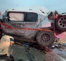 【テキサス130台玉突き事故】トヨタFJクルーザー大破も救護活動の英雄にトヨタが新車プレゼント