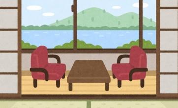 【ヤバイ】すごい旅館が発見される!!鉄道の聖地かな?