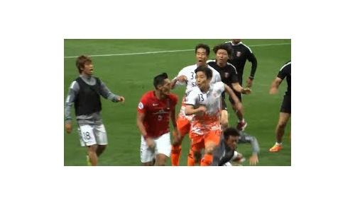【韓国の反応+検証映像】「浦和レッズ槙野が済州を挑発」ACL乱闘騒動で誤情報が韓国で拡散