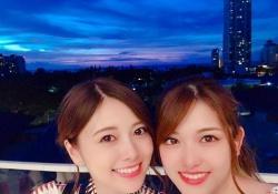 【驚愕】夜景もだけど、白石麻衣×松村沙友理もめちゃ綺麗すぎる・・・www