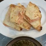 『【インドカレー】ニュームナ@狭山 - 明太チーズナン』の画像