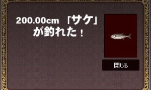 200.00cm 「サケ」が釣れた!