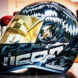 『【バイク】くそカッコいいアメリカ産ヘルメットを買ってみた話【ICON】【AIRFORM】』の画像