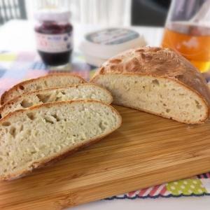 1次発酵だけでパンを焼いてみた!